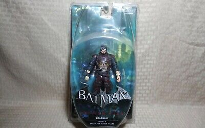 "DC Collectibles Batman Arkham City 7"" Scale Action Figure Series 4 DEADSHOT segunda mano  Embacar hacia Argentina"
