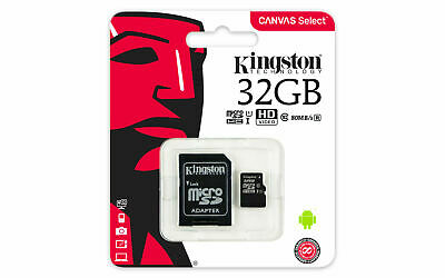 Kingston Micro 32Gb Karte Speicherkarte Class 10 Sdhc Microsd Sdxc Sd Adapter Sd-adapter