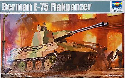 TRUMPETER® 01539 German E-75 Flakpanzer in 1:35