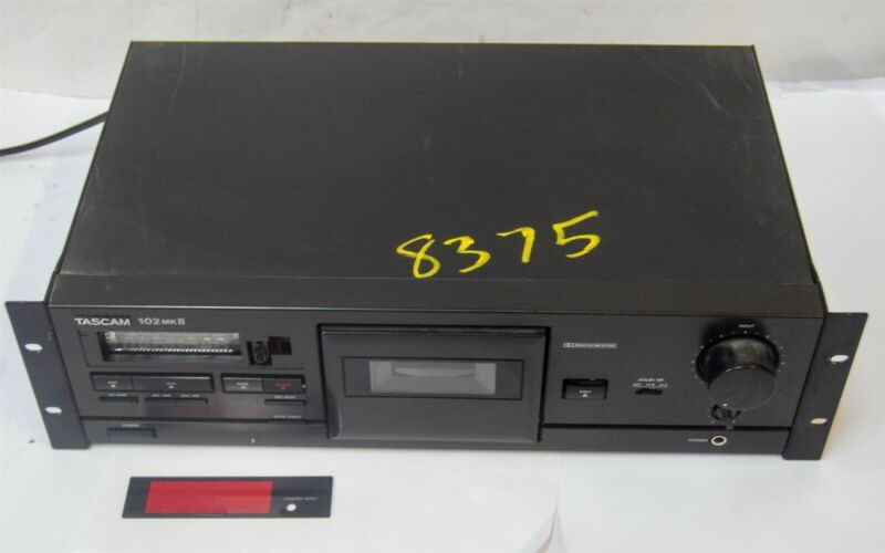 Tascam 102 MKII Professional Cassette Player Recorder (free ship)
