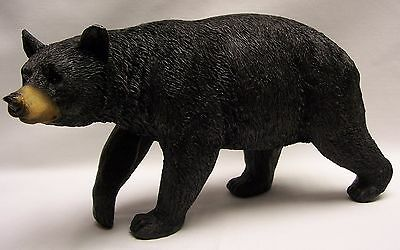 Black Bear Walking Figurine 8