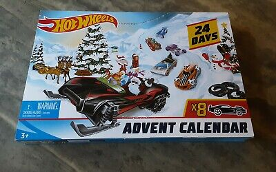 Hot Wheels Advent Calendar 24 Days Cars and Accesories New