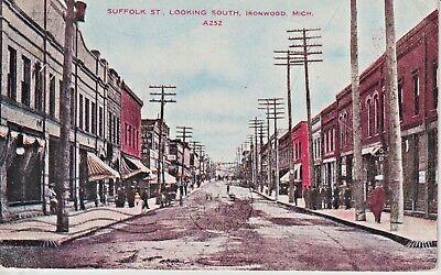 1911 Suffolk St., Looking South in Ironwood, MI Michigan PC