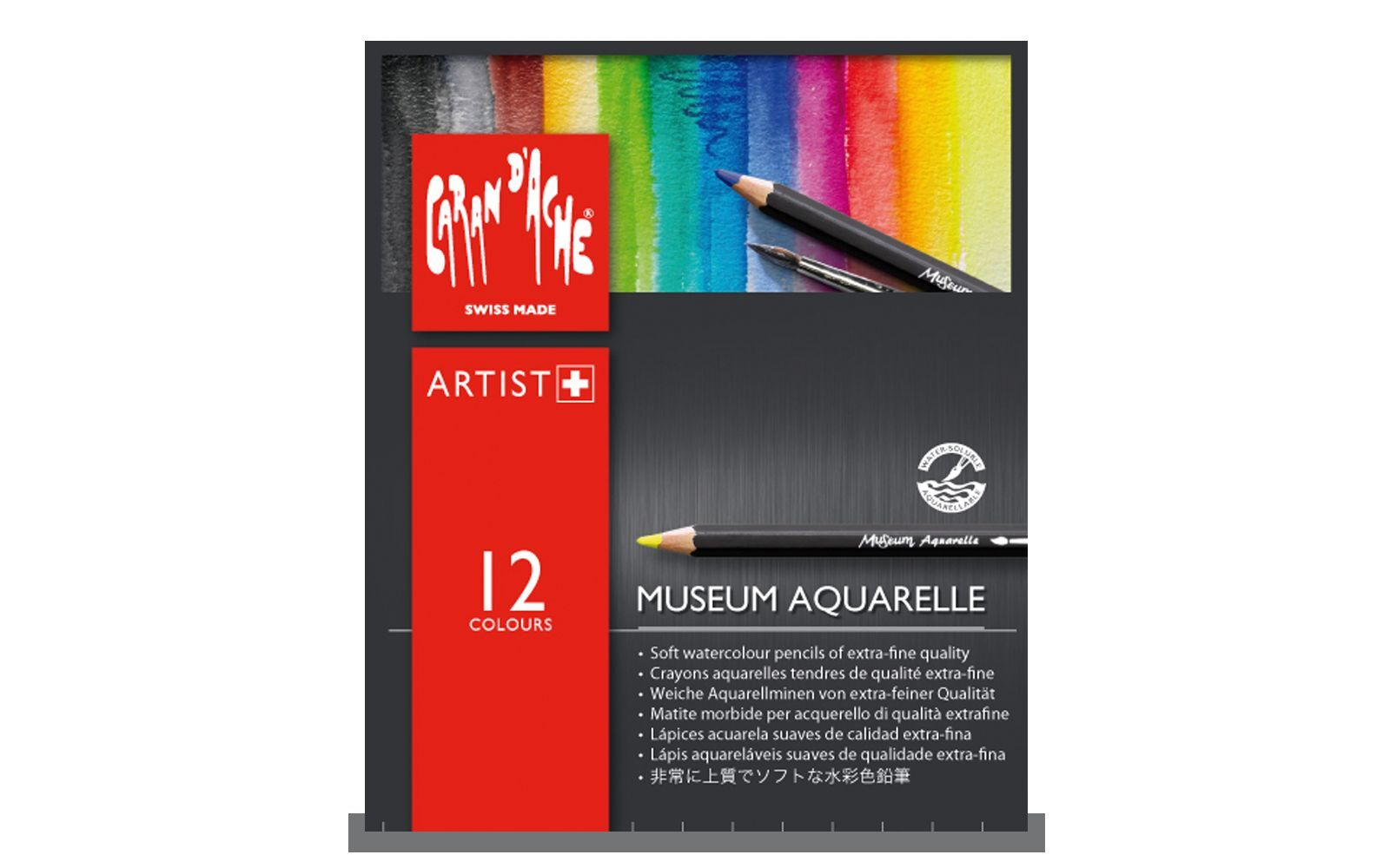Caran d/'Ache Museum Aquarelle Watercolour PencilsDrawing SketchingAll Sets