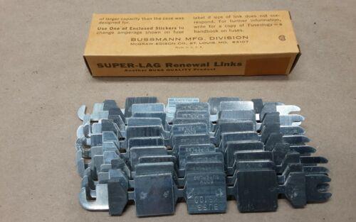 Box of 10 BUSSMANN LKS-100 Fuse Links 100 Amp Renewal Link #11G36RM