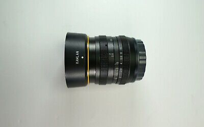 KamLan 50mm f/1.1 Manual Focus Lens for Sony E Mount APS-C