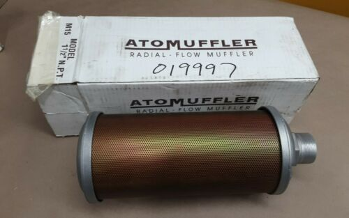 "ALWITCO AEMUF-1-1/2 M15 Muffler 1-1/2"" NPT 44AW56M15 #01A48PR2RM"