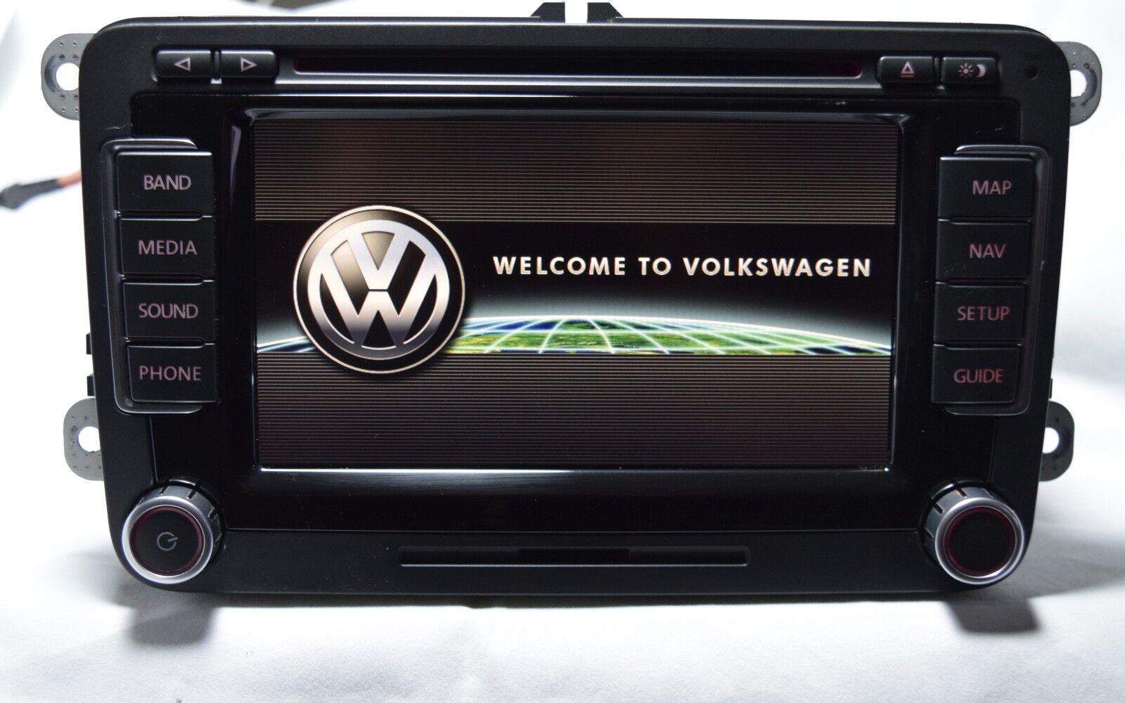 volkswagen vw passat rns 510 navigation system plus monitor radio 3c0035684d ebay. Black Bedroom Furniture Sets. Home Design Ideas