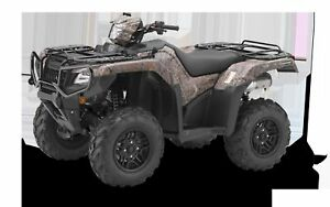 2019 Honda TRX500FA7F Rubicon Deluxe DCT IRS EPS CAMOUFLAGE