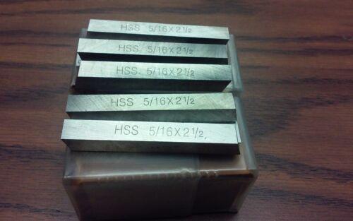 "30pcs 5/16 x 5/16  x 2-1/2""  HSS Square tool bits for $39.00 #HS-2BT-516---new"