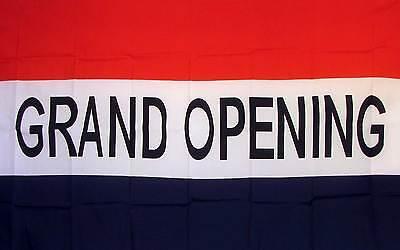 Grand Opening Flag 3 X 5 Deluxe Indoor Outdoor Business Banner