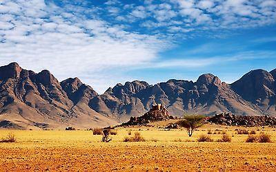 Desert Mountain Scene #5 Trailer Wall Mural Decal Decals Graphics Art