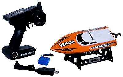 Udirc Venom 2 4Ghz High Speed Remote Control Electric Boat  Orange  Udi Rc