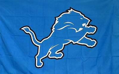 DETROIT LIONS 3' x 5' Polyester Banner ...