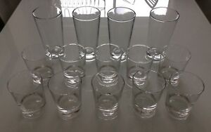 10 IKEA glasses and 4 other ones