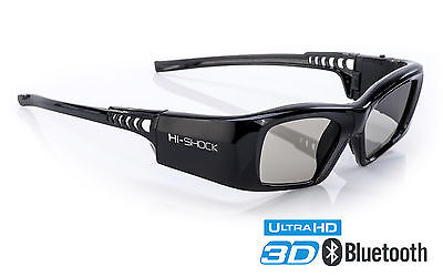 "Sony 3D aktive Brille Hi-SHOCK ""Black Diamond"" für Samsung, Sony & Sharp TV´s"