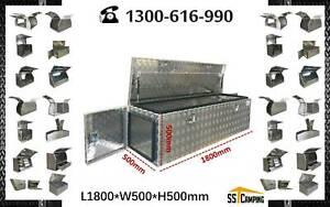 New Generation Aluminium 3 doors trailer toolbox L1800*W500*H500