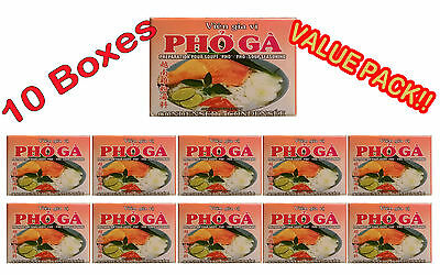 - Vietnamese PHO SOUP SEASONING ''CHICKEN FLAVOR'' PREPARATION 4 CUBES  Lot of 10