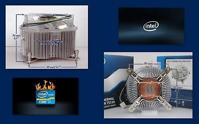 Intel i7-6800K i7-6850K CPU Cooler Heatsink Fan LGA2011-v3 Socket  BXTS13A - New