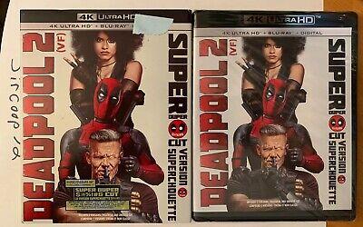 Deadpool 2 Super Duper Cut 2018 (4K Ultra HD + Blu-ray) Brand New w/ SlipCover