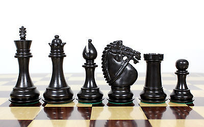 - Wooden Chess Set Pieces Ebony Wood Rio Staunton 4