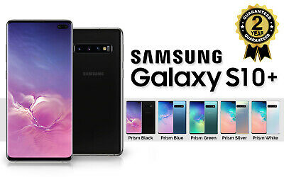 NEW SAMSUNG GALAXY S10 PLUS SM G975F 128GB DUAL SIM UNLOCKED SEALED BOXED