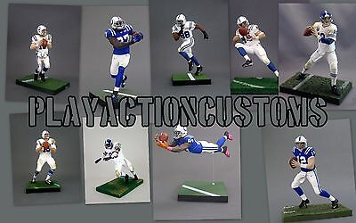 Choice of 1 San Diego L.A Chargers Custom Mcfarlane figure Los Angles NFL LA
