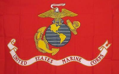US Marine Corps 3x5 Flag Banner