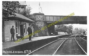 Middlewood Railway Station Photo. Disley - Hazel Grove. Stockport Line. L&NWR