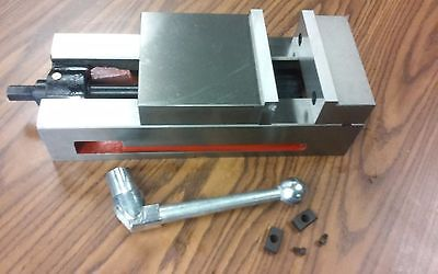 6 Ang-lock Cnc Vise For Cncbridgeport Milling Machine 850-ap06-new