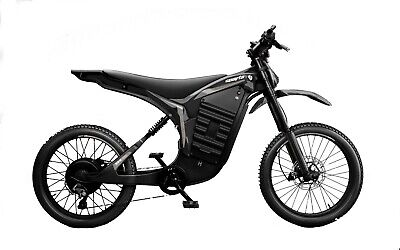 Denzel Sparta Bicicleta eléctrica eMTB 5000W Fibra Carbono moto eléctrica