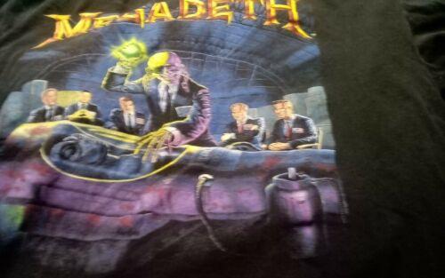 rare vintage megadeth concert shirt, never worn