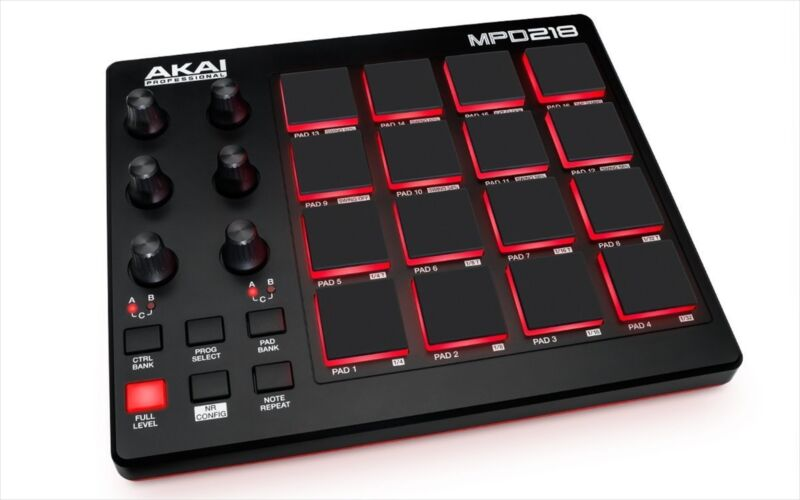 Akai Professional USB MIDI controller 16 Pad sound source software Japan NEW