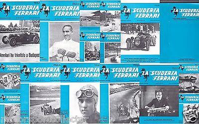 "Original Ferrari Werks factory  Brochures from 1935/36 ""La Scuderia Ferrari"""