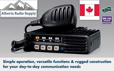 Icom Ic-f5013h Vhf Mobile Radio 50 Watts 136-174mhz 8ch Free Programming