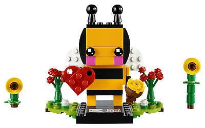 LEGO BrickHeadz Valentine's Bee 40270 Building Set NIB Sealed