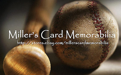 Miller's Card Memorabilia