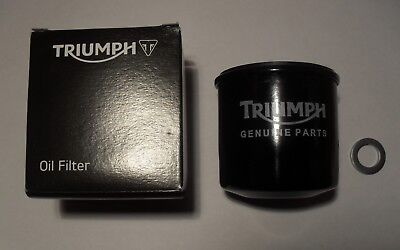 GENUINE TRIUMPH SPRINT GT ST RS SPEED FOUR OIL FILTER WITH SUMP PLUG W