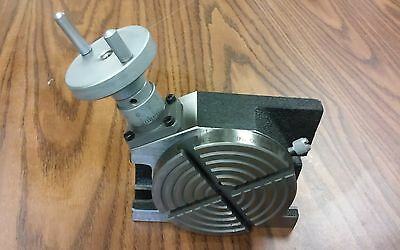 3 Horizontal Vertical Precision Rotary Table Partttsl-75- New