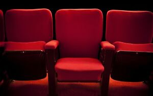 RED VELVET MOVIE THEATRE SEATS PERFECT FOR HOME THEATRES!
