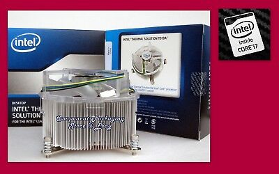 Intel LGA2011-v3 Cooler Heatsink Fan for Core i7 CPU-Processor TDP up 140W  New