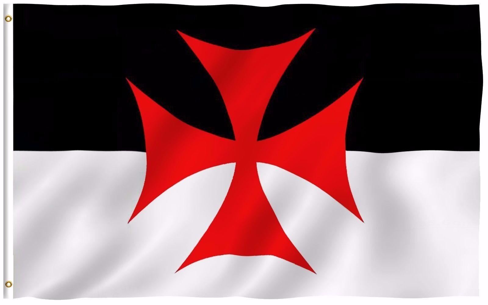 Anley Fly Breeze 3x5 Foot Knights Templar Battle Flag Roman