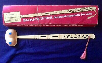 "Vintage back scratcher ""Designed Especially For Men"" Rare UNUSUAL!"