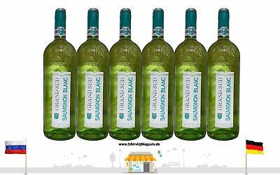 "GRAND SUD ""SAUVIGNON"" Trocken Weißwein Jahrgang 2020 6 x 1L alc. 11% vol."