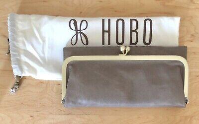 Hobo International Womens Wallet (Nwt Women's Hobo International Leather Wallet Rachel, Ash (Taupe))