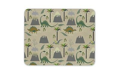 Dinosaur Drawings Mouse Mat Pad T-Rex Jurassic Kids Boys Computer Gift #15250