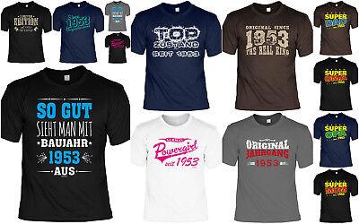 T-Shirt 66 Geburtstag - 66 Jahre Coole Sprüche Motive Geburtstag 1953 - Geb 66 (Coole Sprüche T-shirt)