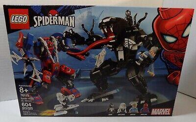 LEGO Marvel Spider Mech Vs. Venom Set # 76115 - Sealed