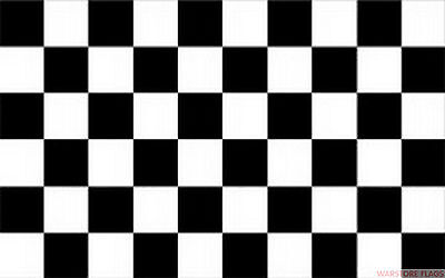 BLACK & AND WHITE CHECKERED 18