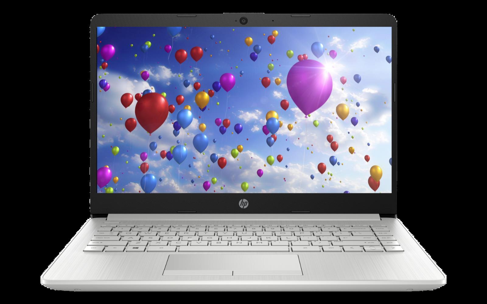 "Laptop Windows - HP 14"" HD laptop AMD Ryzen 3 3.5GHz 1 TB HDD 4GB RAM Mic Webcam Windows 10"